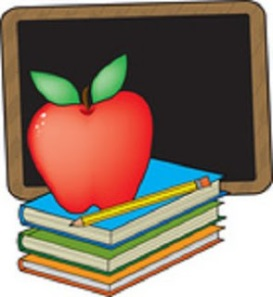 4f1bc-33667-clip-art-graphic-of-a-red-teachers-apple-on-a-stack-of-books-by-a-chalkboard-by-maria-bell