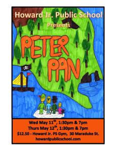 2016 PETER PAN MUSICAL