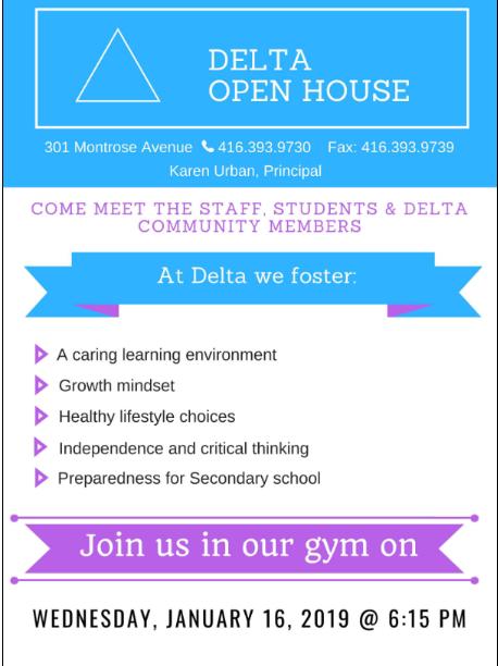 delta open house 2019