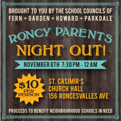 RONCY PARENTS NIGHT - SOCIAL